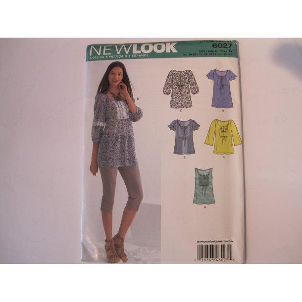 e53c4eb0 New Look, 6027 Tunika - New Look - Din Stofbutik