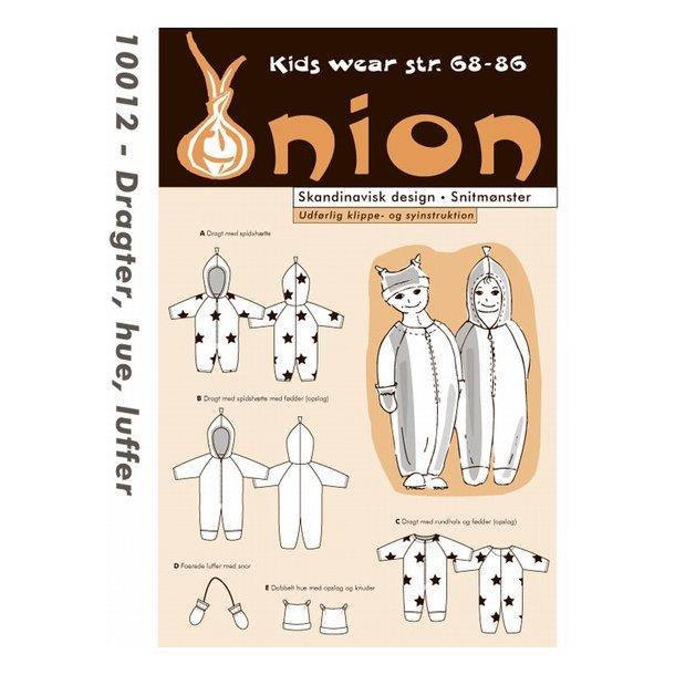 Onion 10012 Børne dragt, hue og luffer