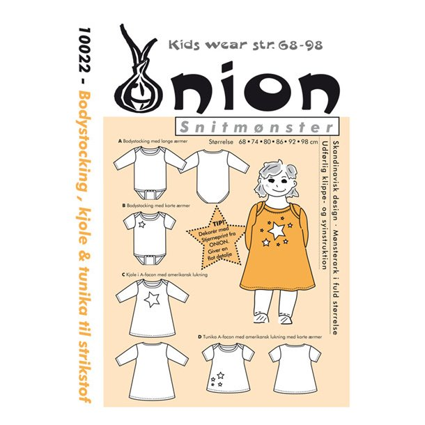 Onion 10022 Børne sæt