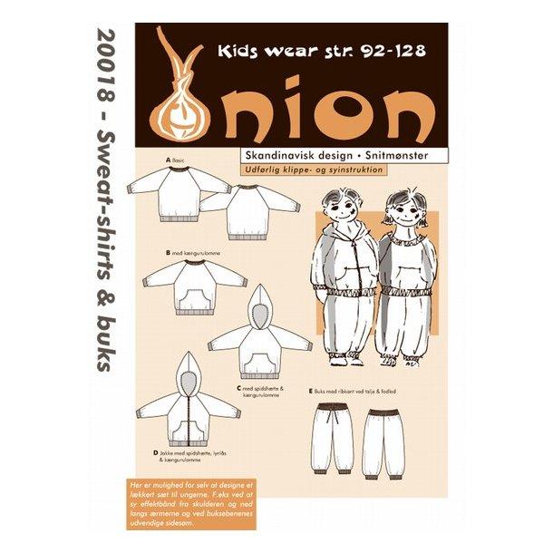 Onion 20018 Børne sweat-shirt og buks