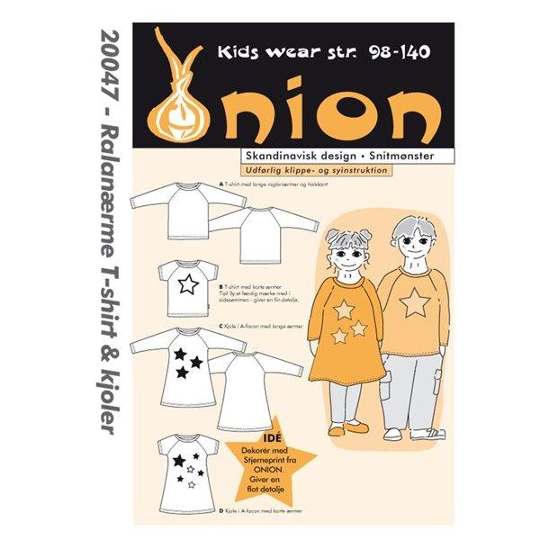 Onion 20047 Børne bluse og kjole