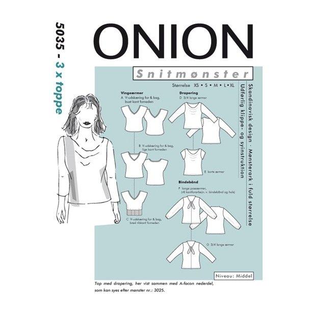 Onion 5035 3 X toppe