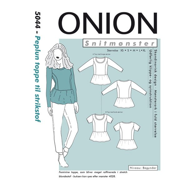 Onion 5044 Top, peplun