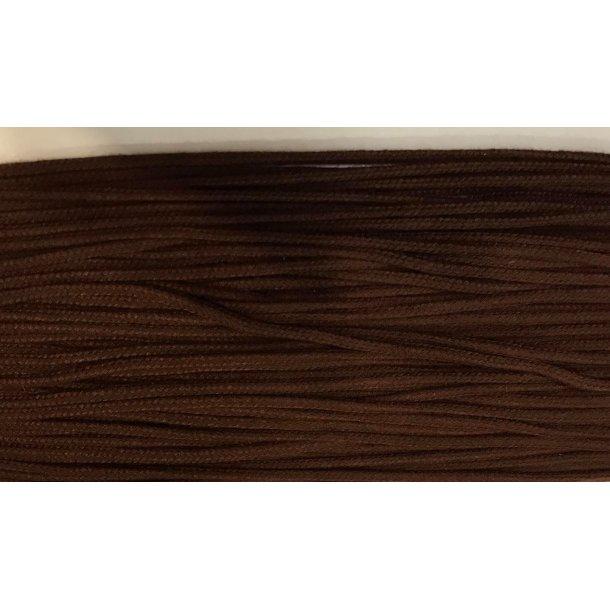 Anorak snor, mørk brun 3 mm