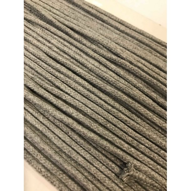 Anorak snor, mellem meleret grå, 3 mm