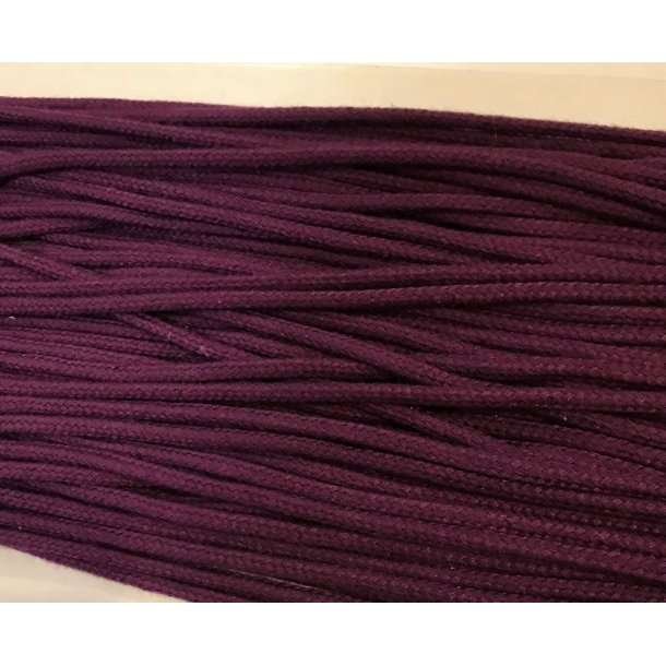 Anorak snor, Mørk lilla, 3 mm