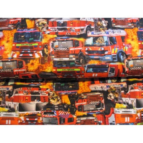 Jersey digital, Brandbiler i flammehav