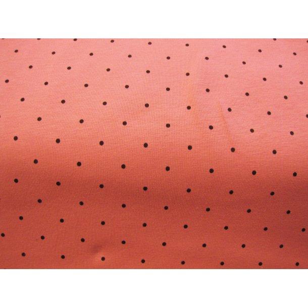 Jersey prik, mini sort, gammel rosa bund