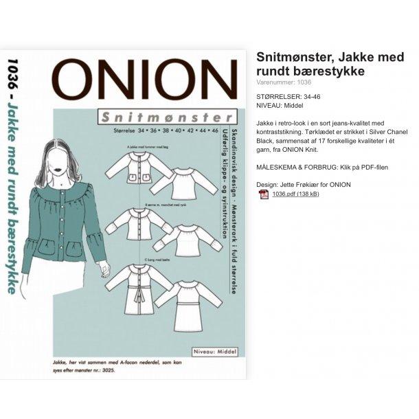Onion 1036 Jakke
