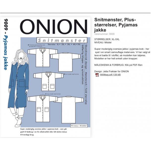 Onion 9009 Plus Size Jakke