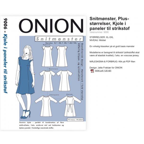 Onion 9006 Plus Size kjole
