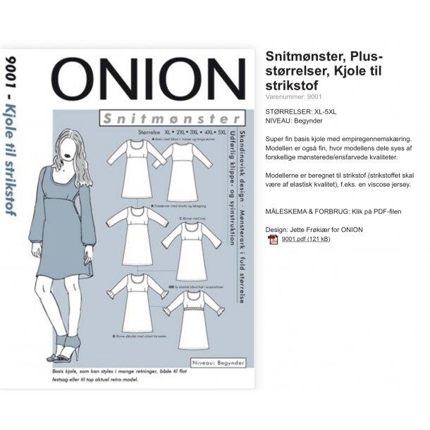 Onion 9001 Plus Size kjole