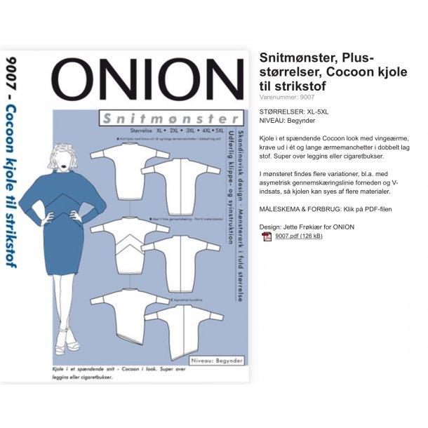 Onion 9007 Plus Size kjole