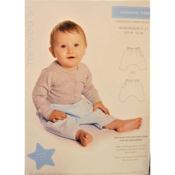 Minikrea 11305 Baby-newborn buks - udgår