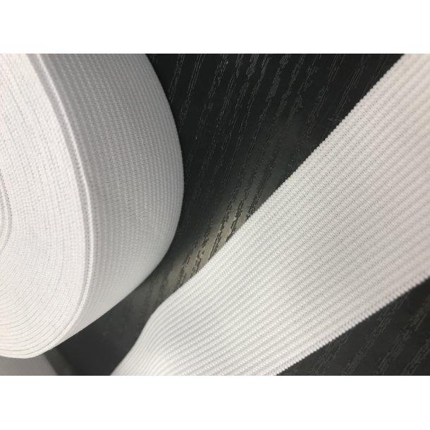 Elastik 3 cm hvid