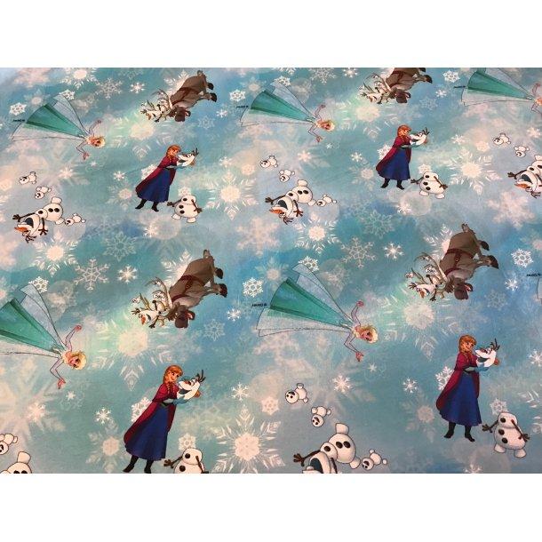 Jersey Digital, Anna, Elsa og Oluf, lys blå bund