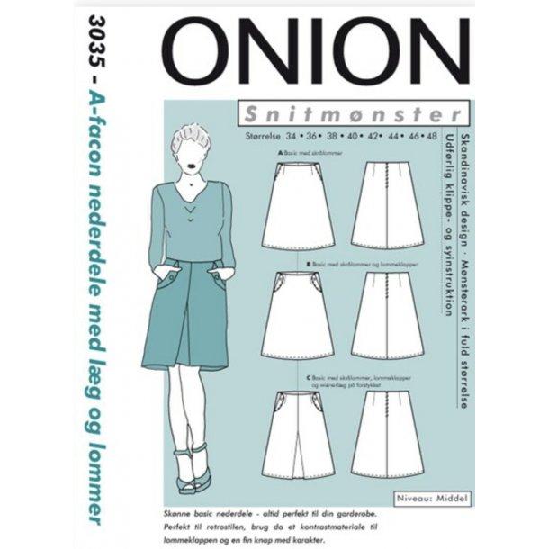 Onion 3035 Nederdel m/u lommer