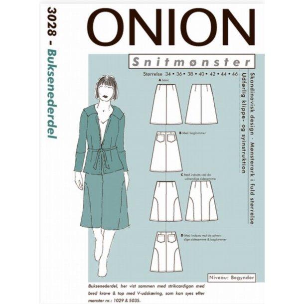 Onion 3028 Nederdel m/lidt vidde
