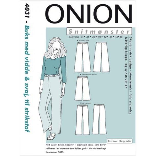 Onion 4031 Buks m. vidde og kassebuks svaj
