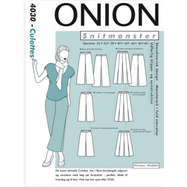 Onion 4030 Buks Culottes