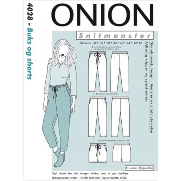 Onion 4028 Buks og shorts