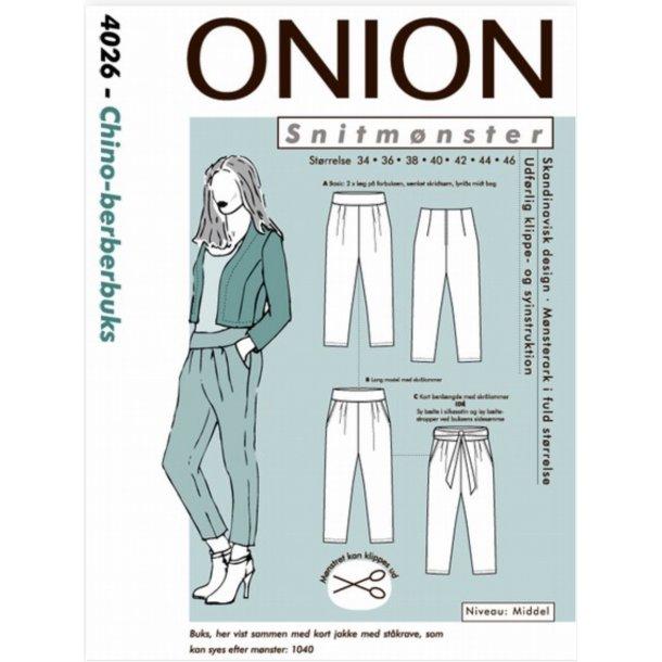 Onion 4026 Berberbuks-chino