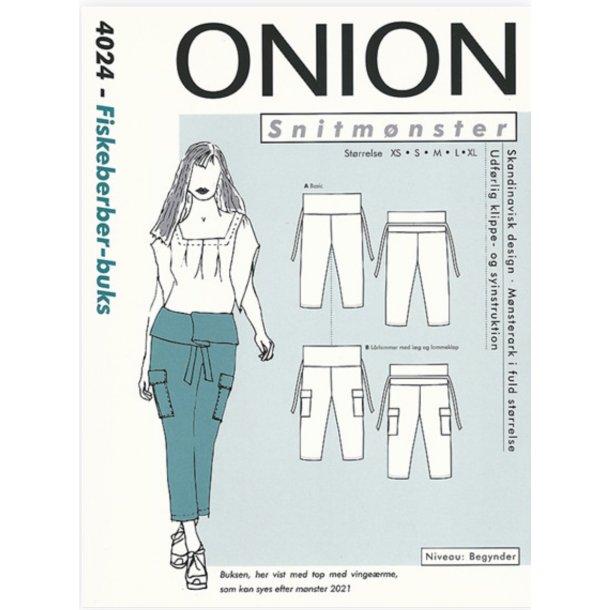 Onion 4024 Fiskeberber-buks