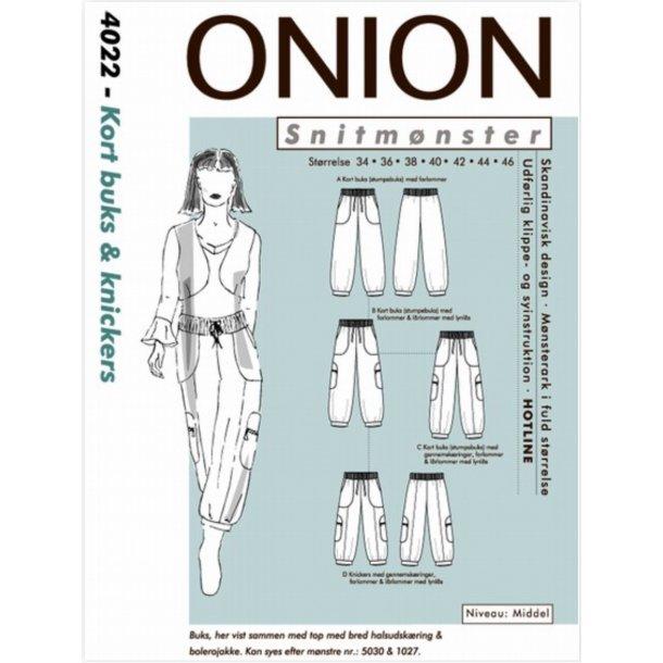 Onion 4022 Buks, kort og knickers
