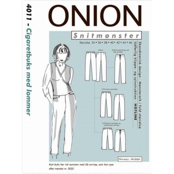 Onion 4011 Buks, cigaret m. lomme