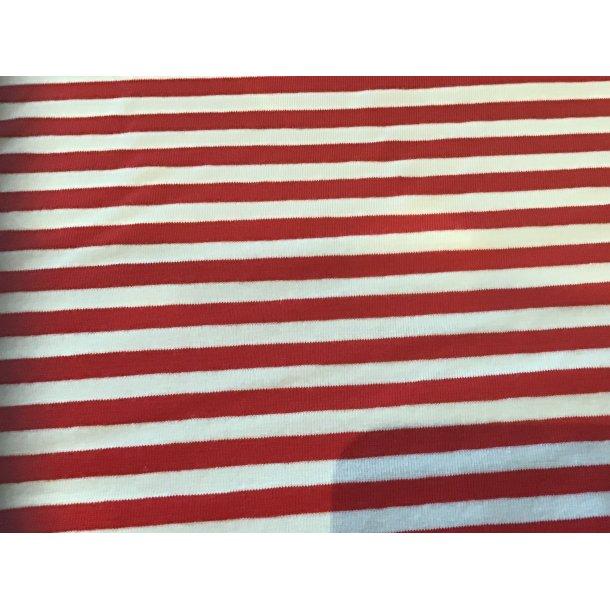 Jersey strib, Rød/hvid
