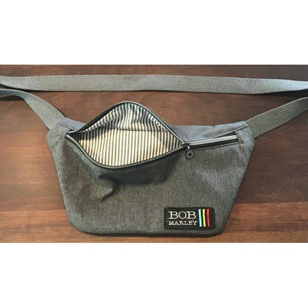 Bumbag i softshell, bomulds foer, færdig taske