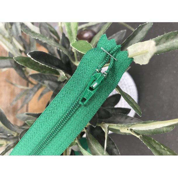 Lynlås YKK, Græs grøn. 60 cm