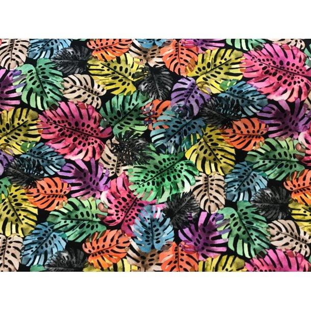 Jersey digital, fingerfilodendron i regnbuensfarver