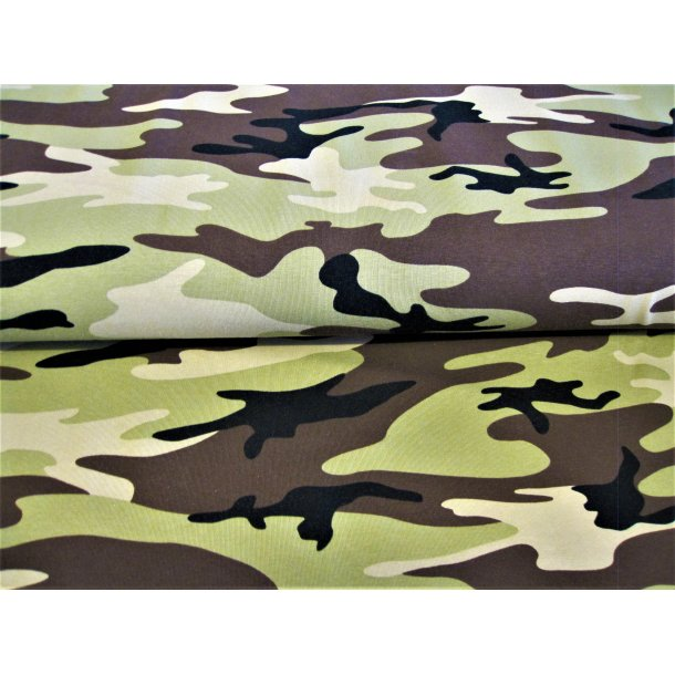 Jersey, Army grøn/sort/brun