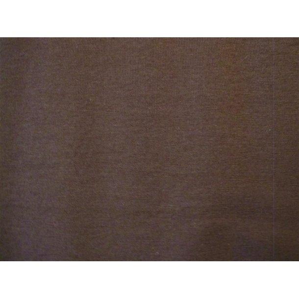 Jersey ensfarvet, Mørk brun
