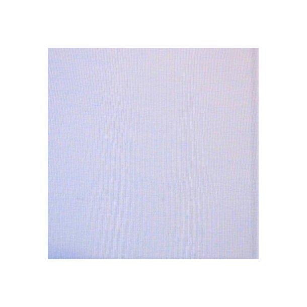 Jersey ensfarvet, lyseblå