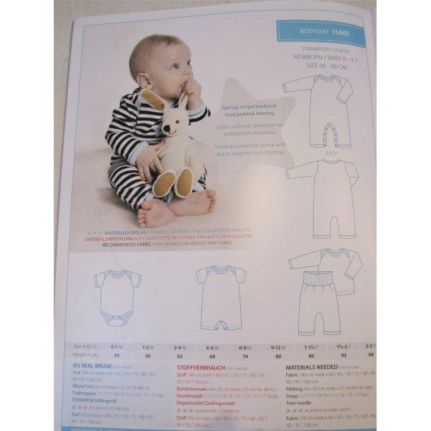 Minikrea 11401 Baby - Newborn heldragt