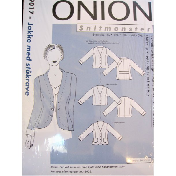 Onion 9017 Plus size jakke