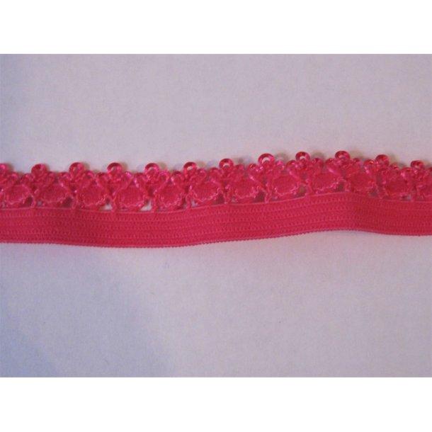 Blonde elastik, 1,4 cm pink, fv. 175