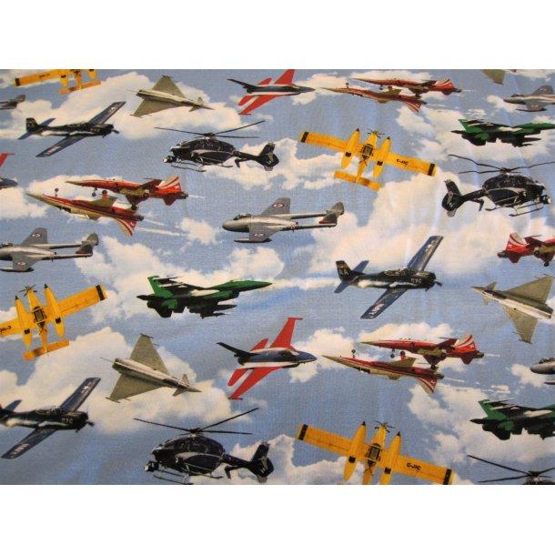 Jersey Digital, Militær fly i luften