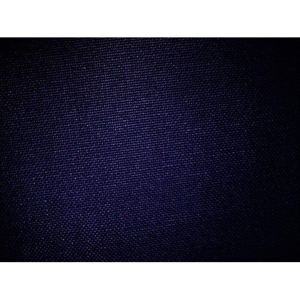 Fast bomuld lærred, Mørk marine blå