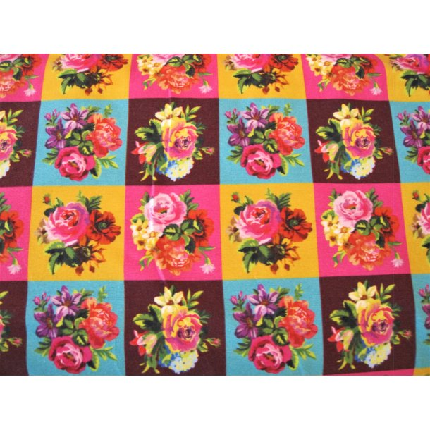Jersey digital, Rosen buket i firkanter m. forskellige farver
