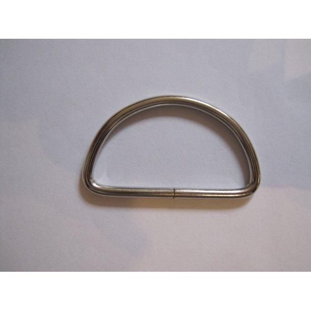 D-ring stor, stål, til 3,5 - 4 cm gjord