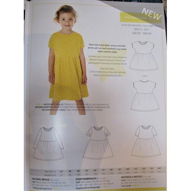 Minikrea 33013 Pige kjole m. bærestykke
