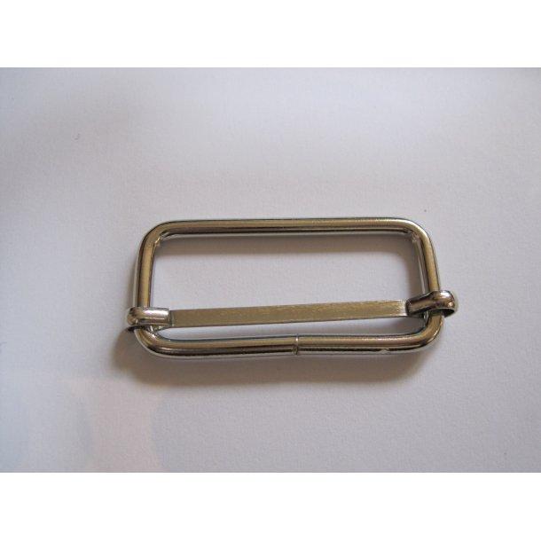 Aflang spænde til regulering, stål, 2 x 4 cm