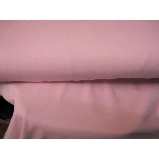Jersey ensfarvet, baby lyserød