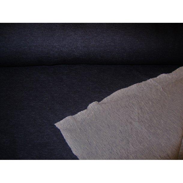 Jacquard, koksgrå m. lys grå bagside